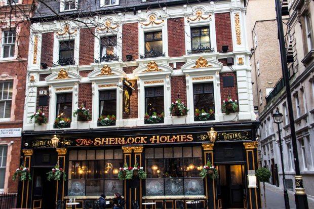 Sherlock Holmes Bar